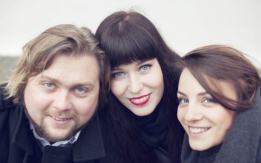 Karolina Glinskaitė, Silvija Pankūnaitė ir Vytis Smolskas