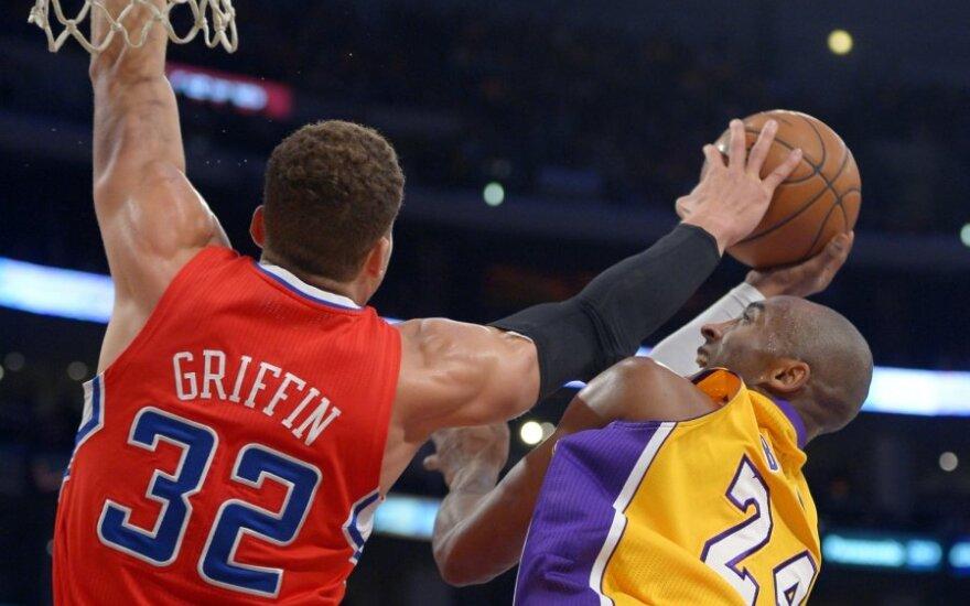 Blake Griffinas ir Kobe Bryantas