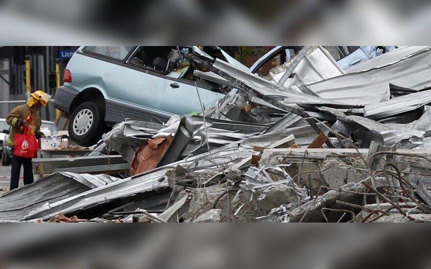 Žemės drebėjimas N.Zelandijoje sukėlė šnipų skandalą