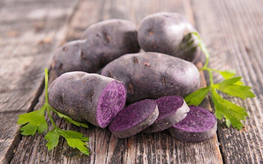 Violetinės bulvės