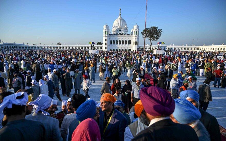 Sikhu piligrimai