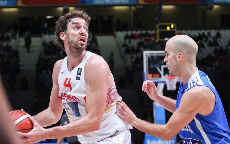 Europos krepšinio čempionatas 2015. Ispanija - Graikija