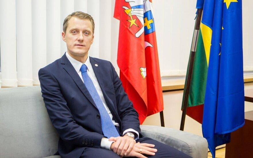 Ž.Vaičiūnas Taline ragins dėl Astravo AE laikytis vieningos pozicijos