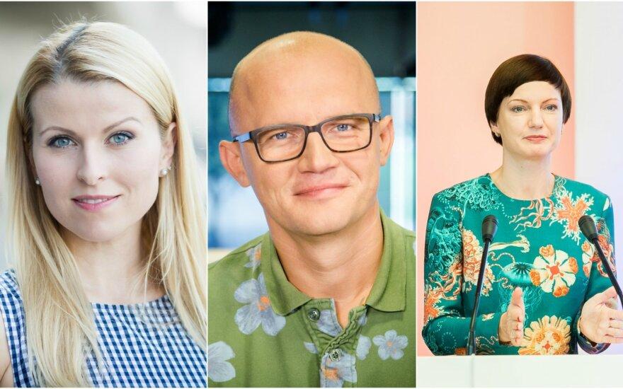 Rūta Mikelkevičiūtė, Edmundas Jakilaitis, Monika Garbačiauskaitė-Budrienė