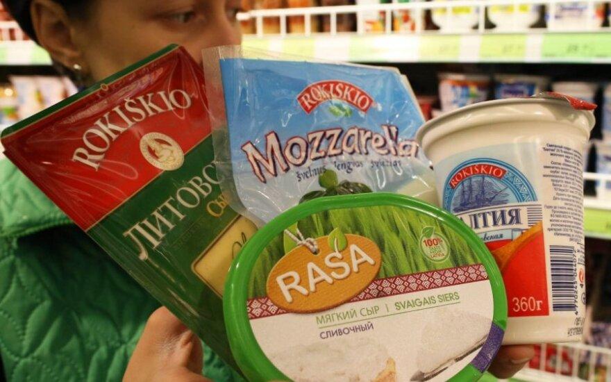 Pieno produktai, maistas, prekyba, Rusija, Kaliningradas