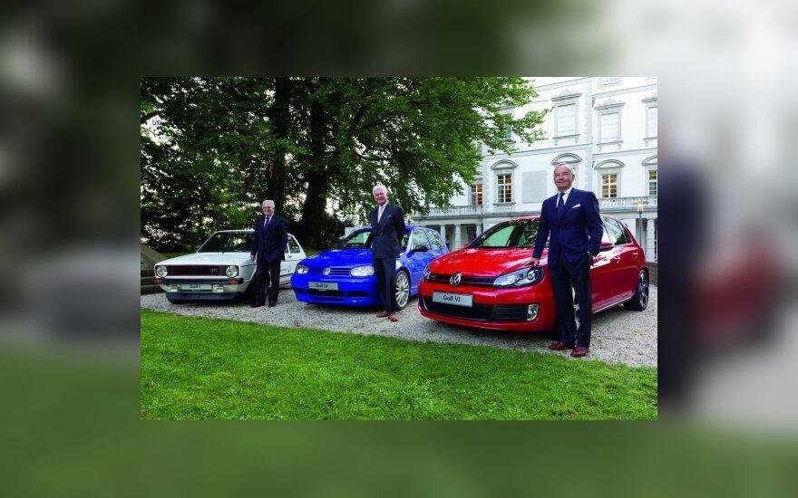 """Kur slypi """"Volkswagen Golf"""" sėkmės paslaptis?"""