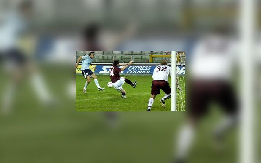 """""""Lazio"""" įvartis į """"Torino"""" vartus"""