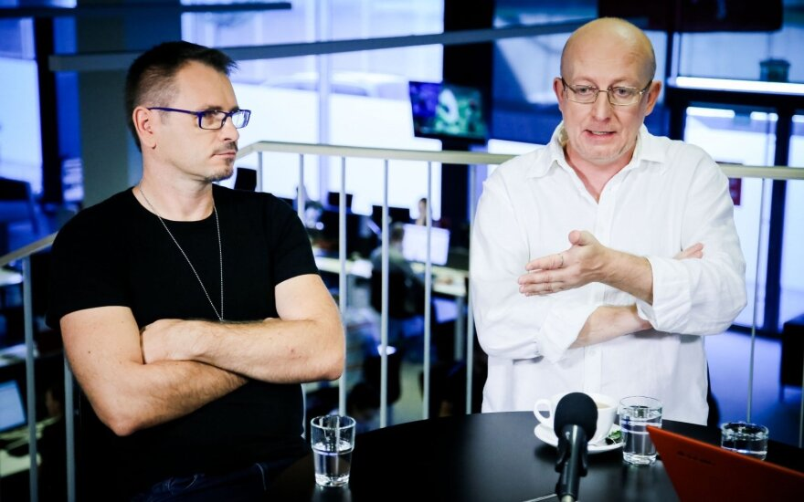 Marijonas Mikutavičius ir Arūnas Valinskas