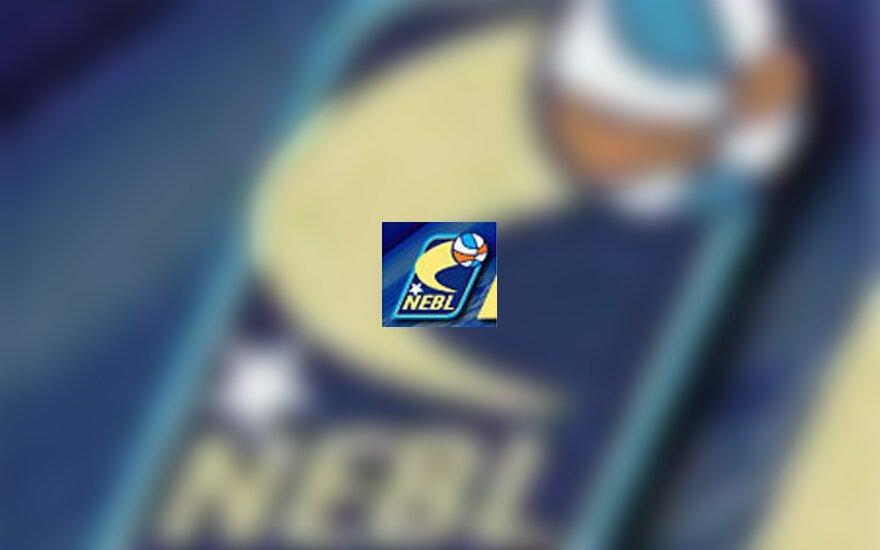 NEBL logotipas