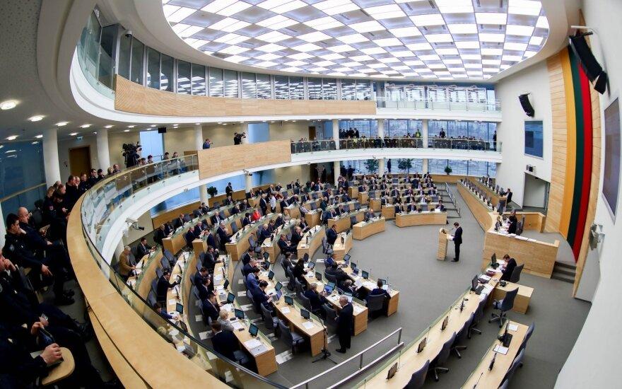 Nesupranta dvejopų standartų: Seimas vis dar sugeba nustebinti