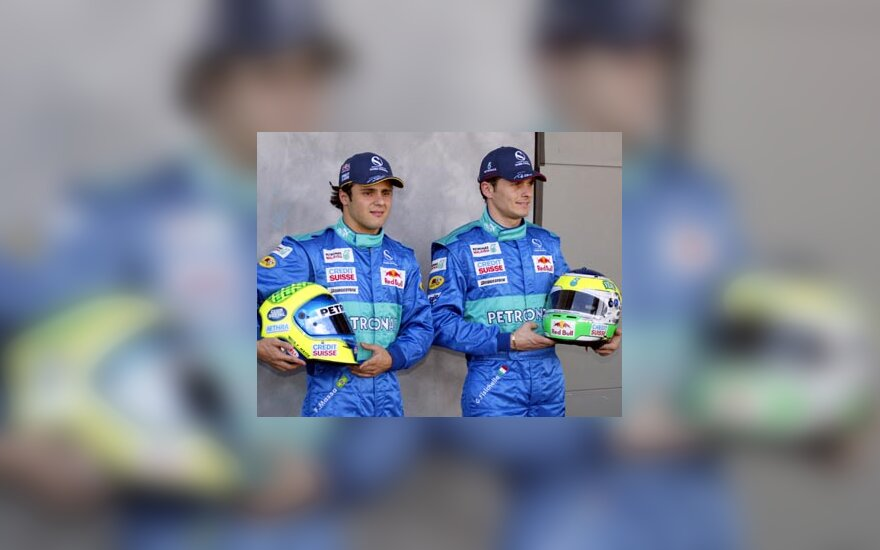 Felipe Massa ir Giancarlo Fisichella