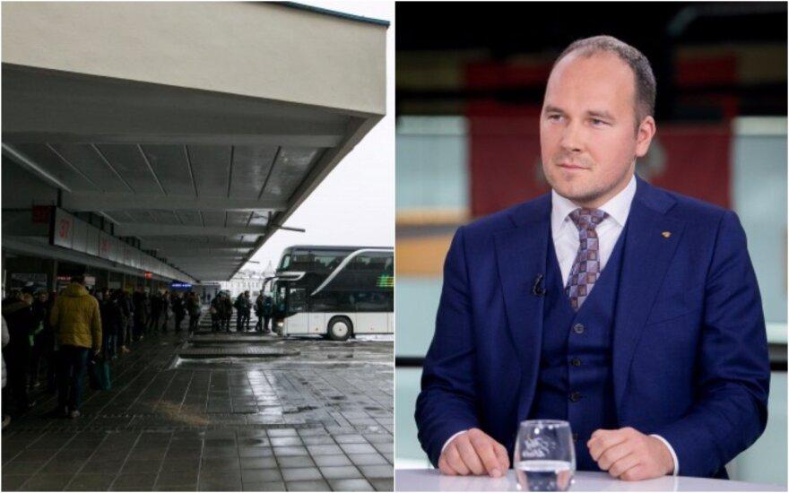 Maurico idėja Lietuvai: Vilniaus autobusų stotis turėtų ieškoti naujos vietos