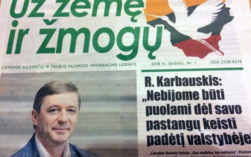 """Laikraštis """"Už žemę ir žmogų"""""""