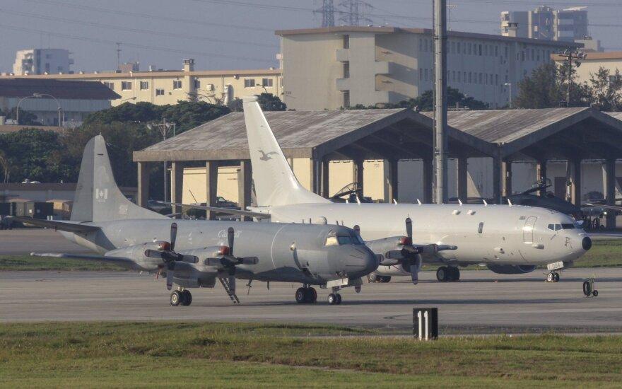 Rusai teigia virš Baltijos jūros perėmę amerikiečių žvalgybinį lėktuvą