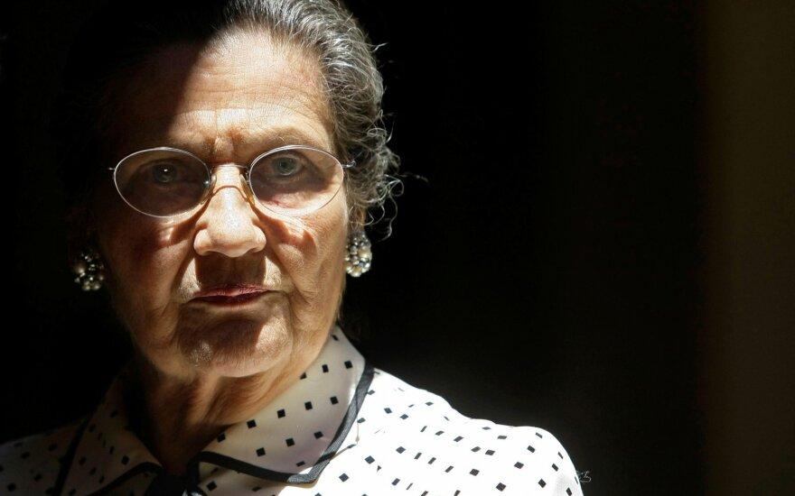 Paryžiaus Panteone laidojama kovos už moterų teises legenda Simone Veil