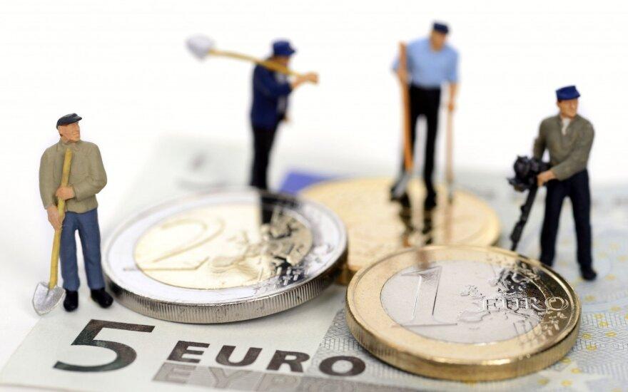 Average Lithuanian wage jumps 6%