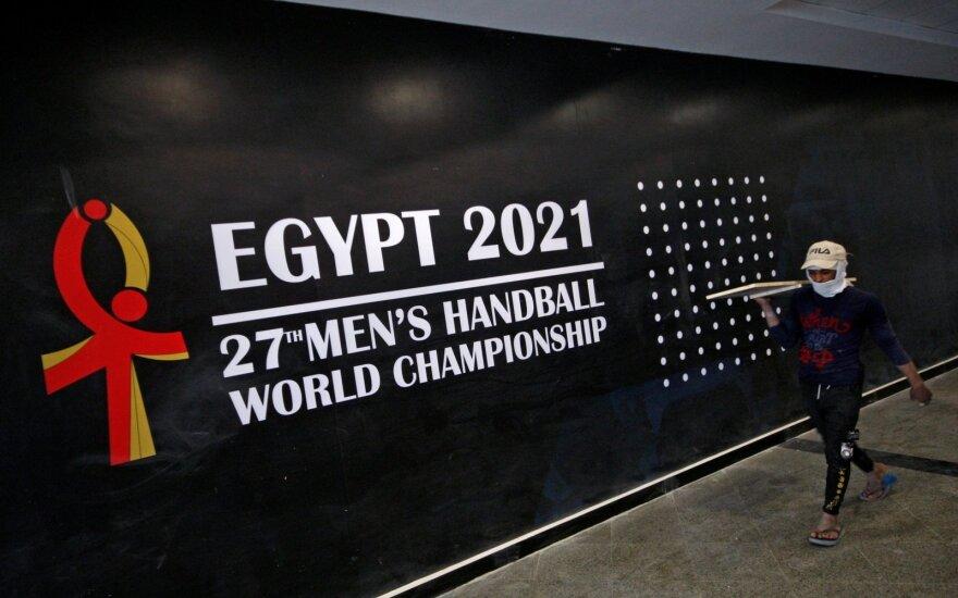 Pasaulio rankinio čempionato reklama