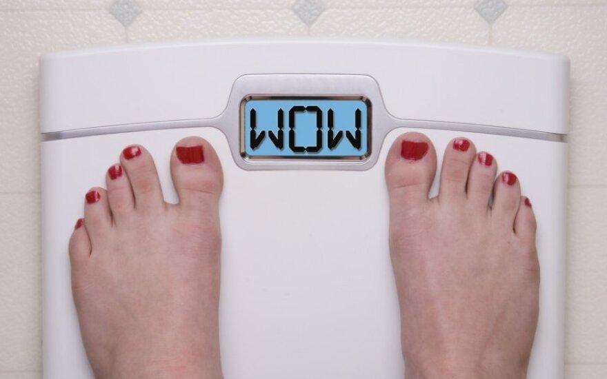 Kodėl sportuojant priaugama svorio?