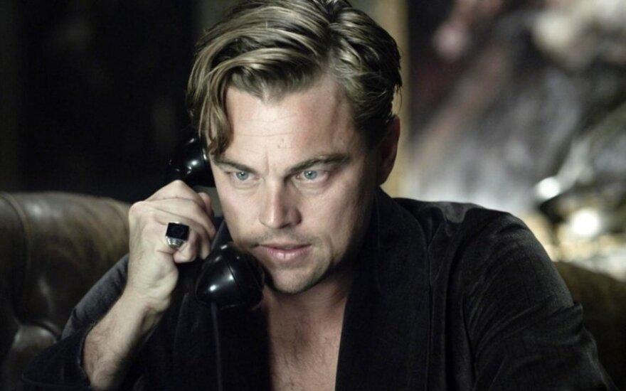 """Leonardo DiCaprio filme """"Didysis Getsbis"""""""