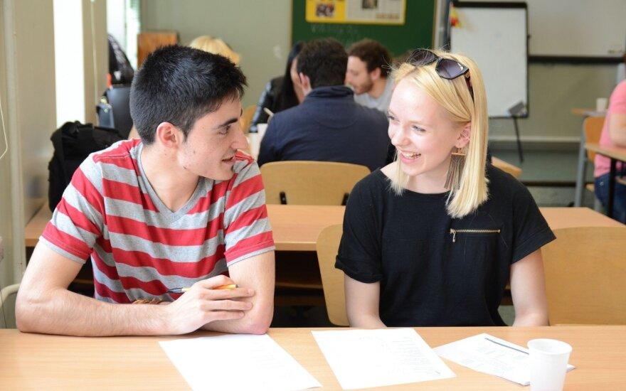 Klaipėdos universiteto studentai