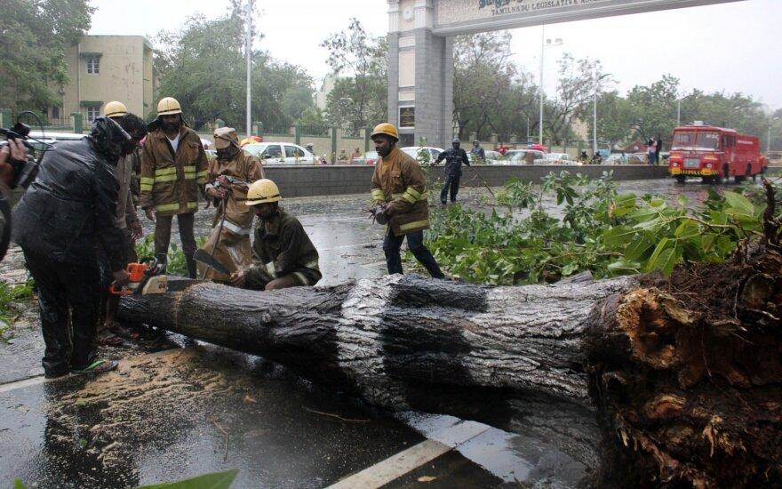 Ciklonas Pietų Indijoje