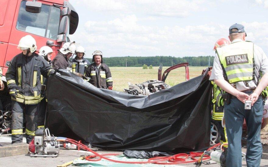 Kraupi tragedija kelyje Vilnius-Druskininkai: žuvo žmogus, teko laikinai stabdyti eismą
