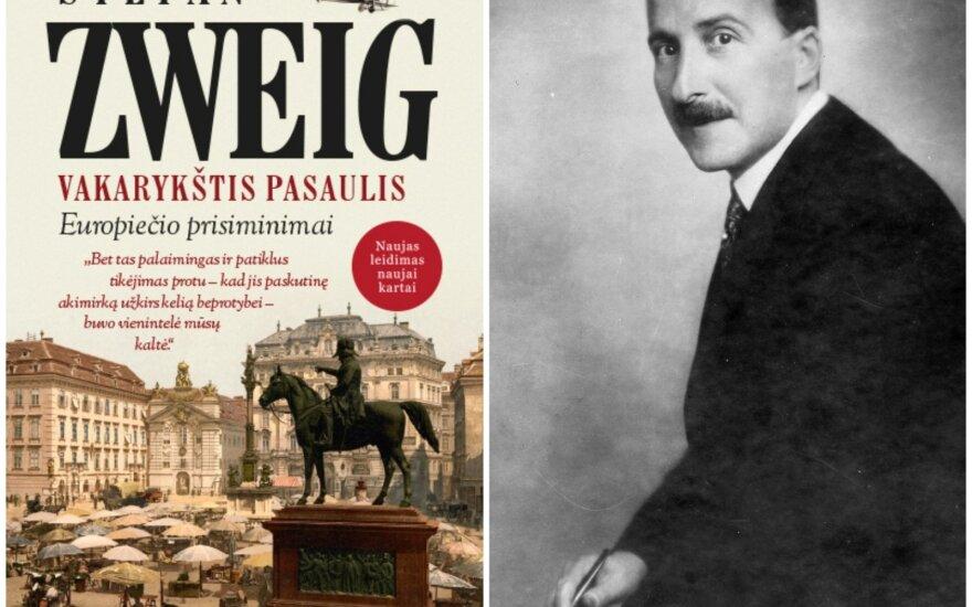 Stefan Zweig. Vakarykštis pasaulis