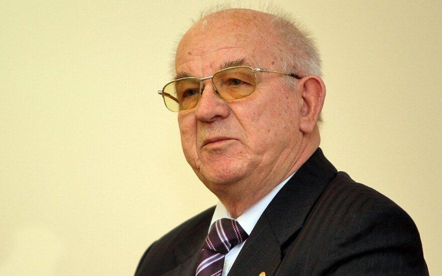 Mirė teisininkas, vienas Konstitucijos kūrėjų Stasys Stačiokas