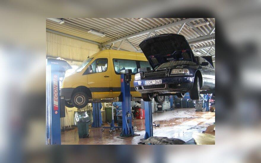 """""""Volkswagen"""" ir """"Audi"""" servisai Vilniuje mažina kainas"""