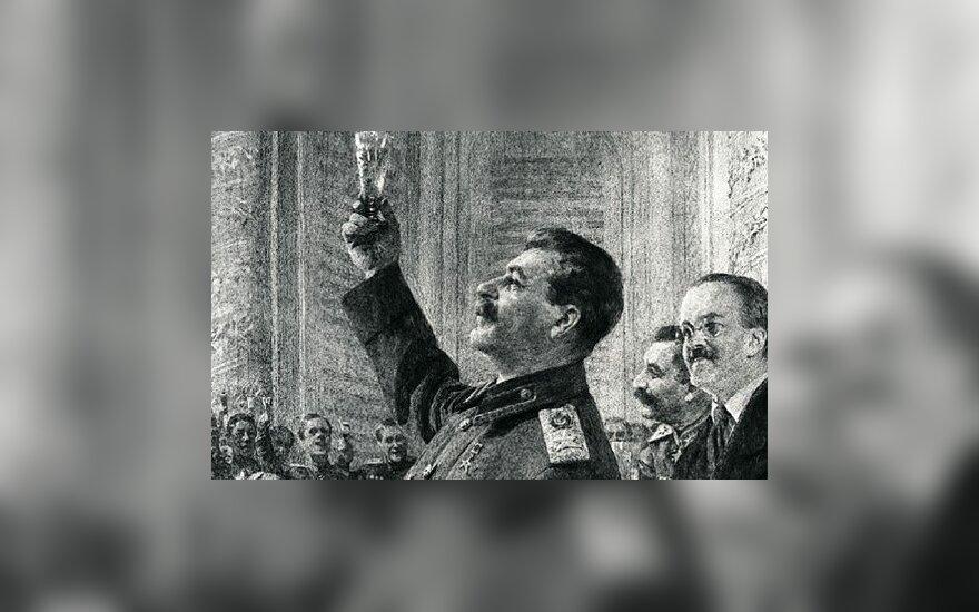 Remiantis liudininkų pasakojimais, Stalinas dažnai siūlydavo svečiams išgerti, bet pats išlaikydavo blaivų protą.