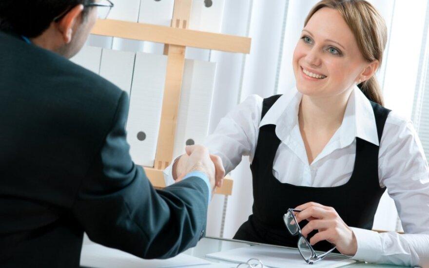 Norimas atlyginimas įvardijamas ne CV, o per darbo pokalbį