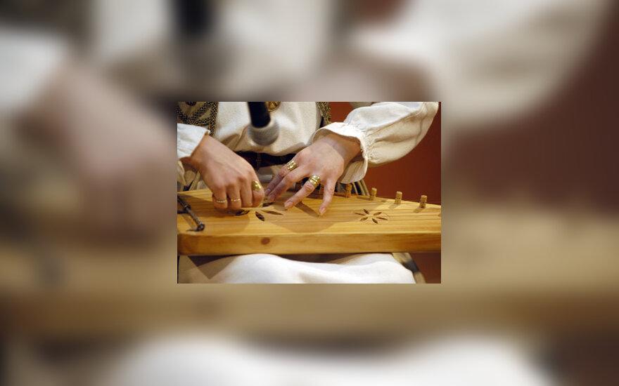 kanklės, folkloras, liaudies muzika