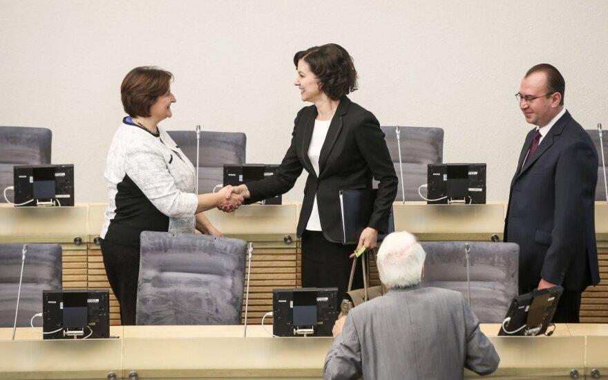 Loreta Graužinienė ir Edita Dambrauskienė