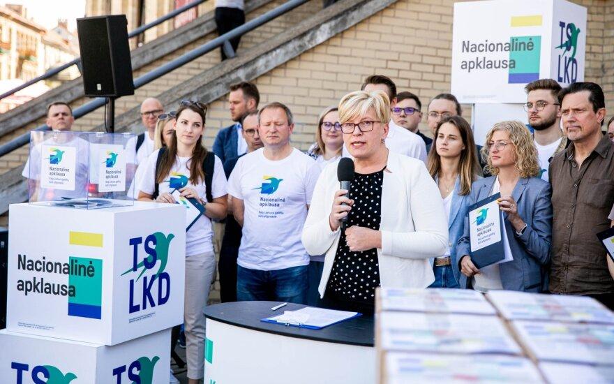 Šimonytė – apie sąjungininkų paiešką po rinkimų: tai yra svarbu ir to nereikia slėpti