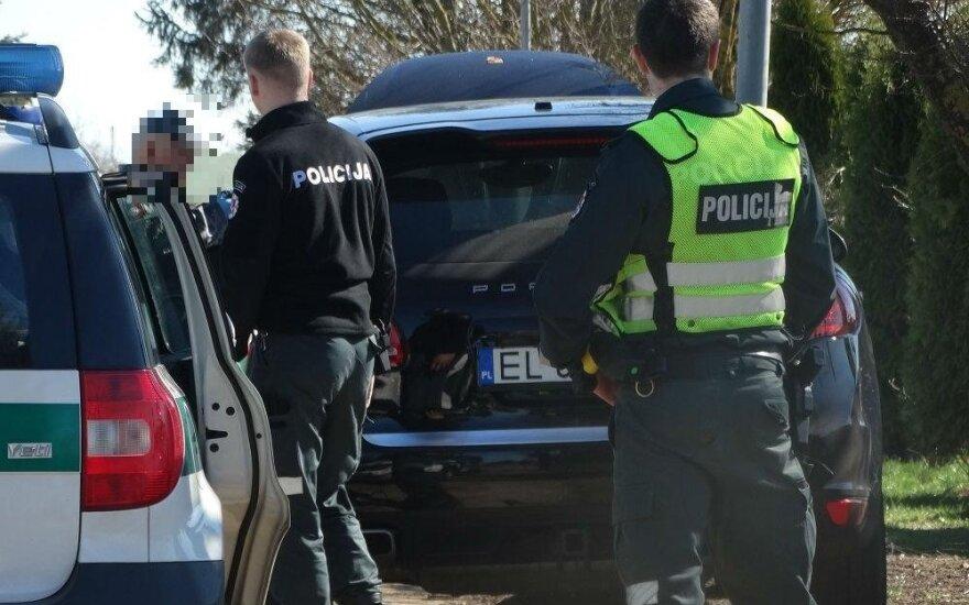 Nuo Alytaus policininkų bėgusį lenką slegia sunkūs įtarimai