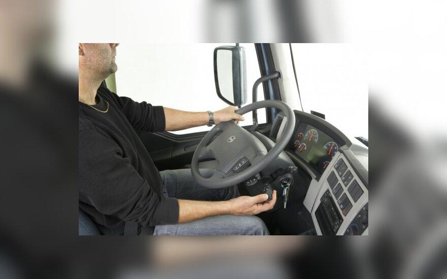 """Automatizuota transmisija """"Volvo FE"""" sunkvežimiui"""