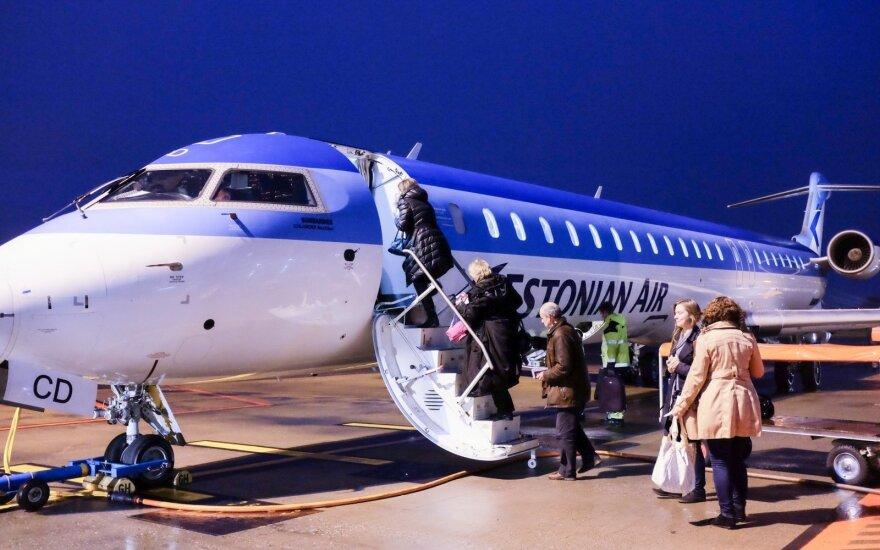 Keleivių Talino oro uoste skaičius šiemet gerokai išaugo