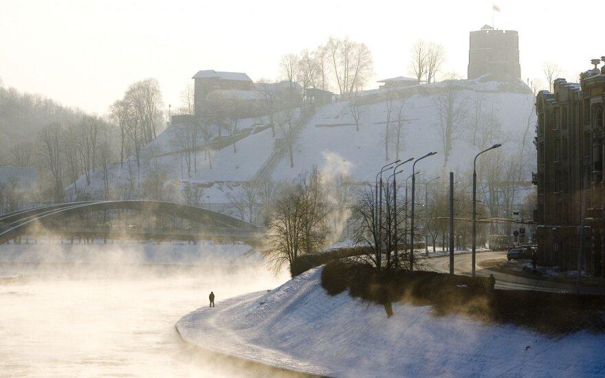 Atsigriebs už visą gruodį: metų pradžioje – stingdantis šaltis