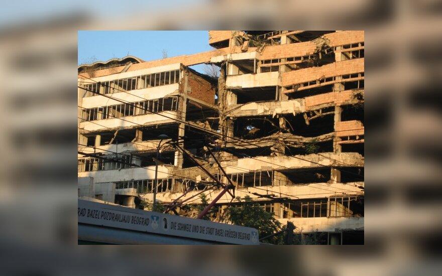 Žmogaus teisių gynėjai prisiminė NATO bombardavimą Serbijoje