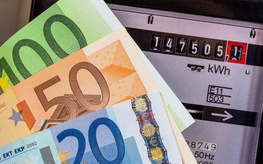 Elektros kaina Lietuvoje išliko aukščiausios Baltijos šalyse