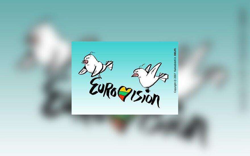 """Nuomonė. Lauk """"Eurovizijos"""" atrankos komisiją!"""