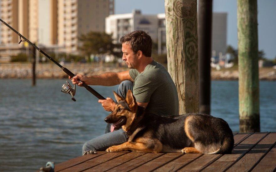 Žvejyba mieste