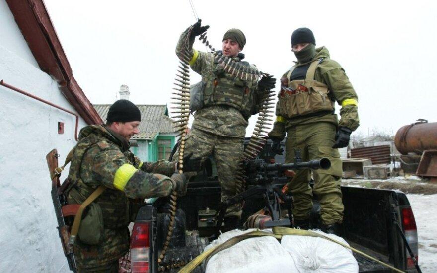 Ukrainos kariai džiūgauja sudoroję separatistų aviaciją