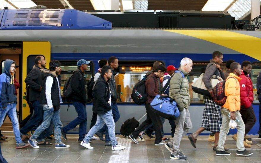 Lietuvos verslininkai pabėgėliams turi esminį reikalavimą