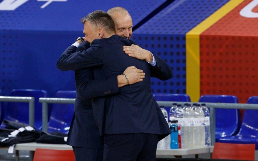 """Kurtinaitis prieš dvikovą su """"Barca"""" pripažįsta: kaip mes nusiteiksime, toks bus ir rezultatas"""