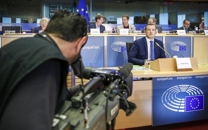 Neoficialiai: Sinkevičius egzaminą EP išlaikė