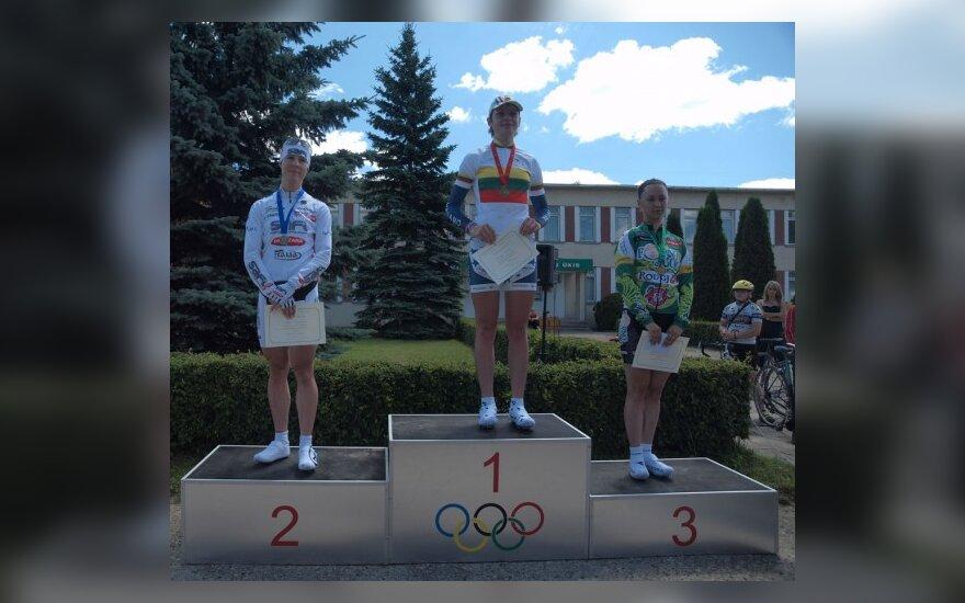 Vilija Sereikaitė, Katažina Sosna ir Aleksandra Sošenko