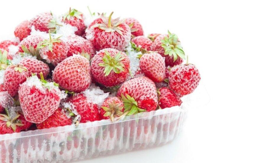 Kaip tinkamai užšaldyti maisto produktus