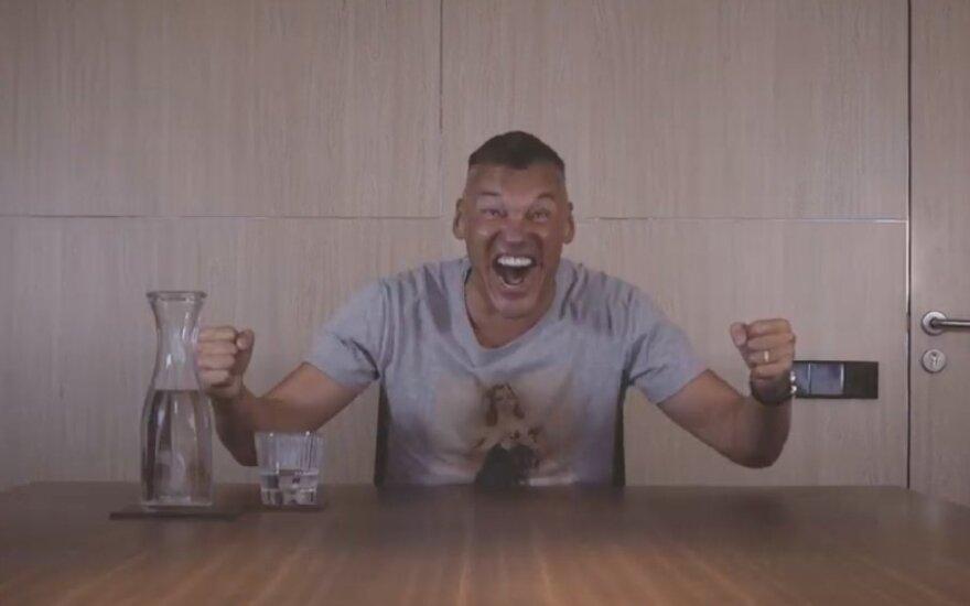Šarūnas Jasikevičius Eurolygos vaizdo klipe
