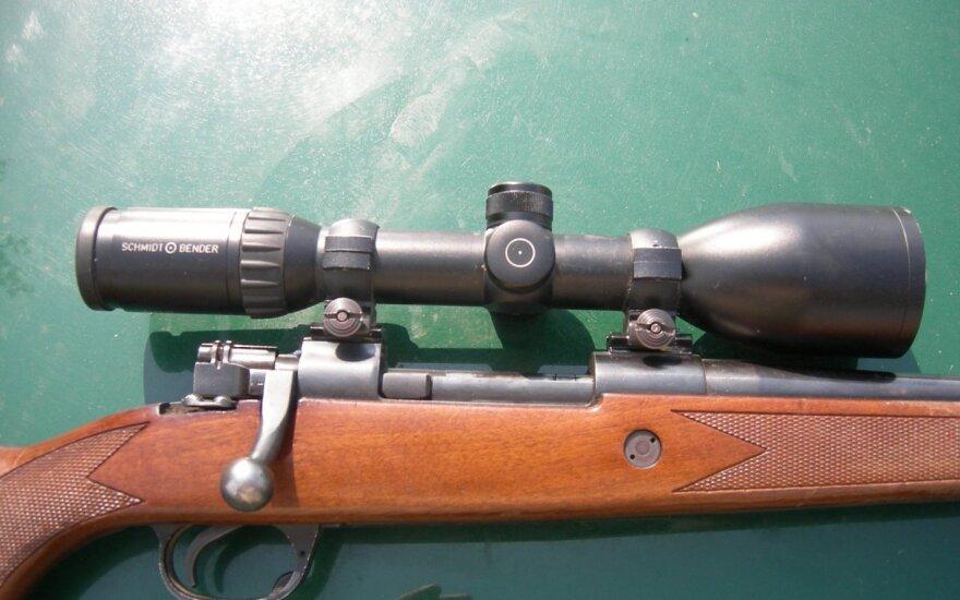 Karmėlavos klebonijoje rastas paslėptas šautuvas